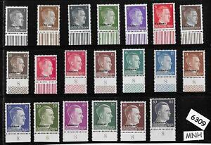 MNH-Adolph-Hitler-stamp-set-WWII-Third-Reich-Occupation-Ukraine-Overprints