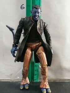 2 TOY BIZ X-MEN ACTION FIGURE LOT NIGHTCRAWLER /& WOLVERINE SNAR OUT CLAWS MIP