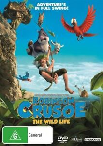 Robinson-Crusoe-The-Wild-Life-DVD-NEW-Region-4-Australia