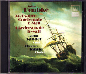 Julius-REUBKE-Piano-amp-Organ-Sonata-CD-Claudius-TANSKI-Martin-SANDER-MDG