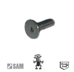 Sammy® Schrauben großer und sehr niedriger Flachkopf TORX A2 Edelstahl V2A M3