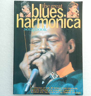 Great Blues Harmonica Song Book Long-Handled Shovel Midnight Special Hootie Blue