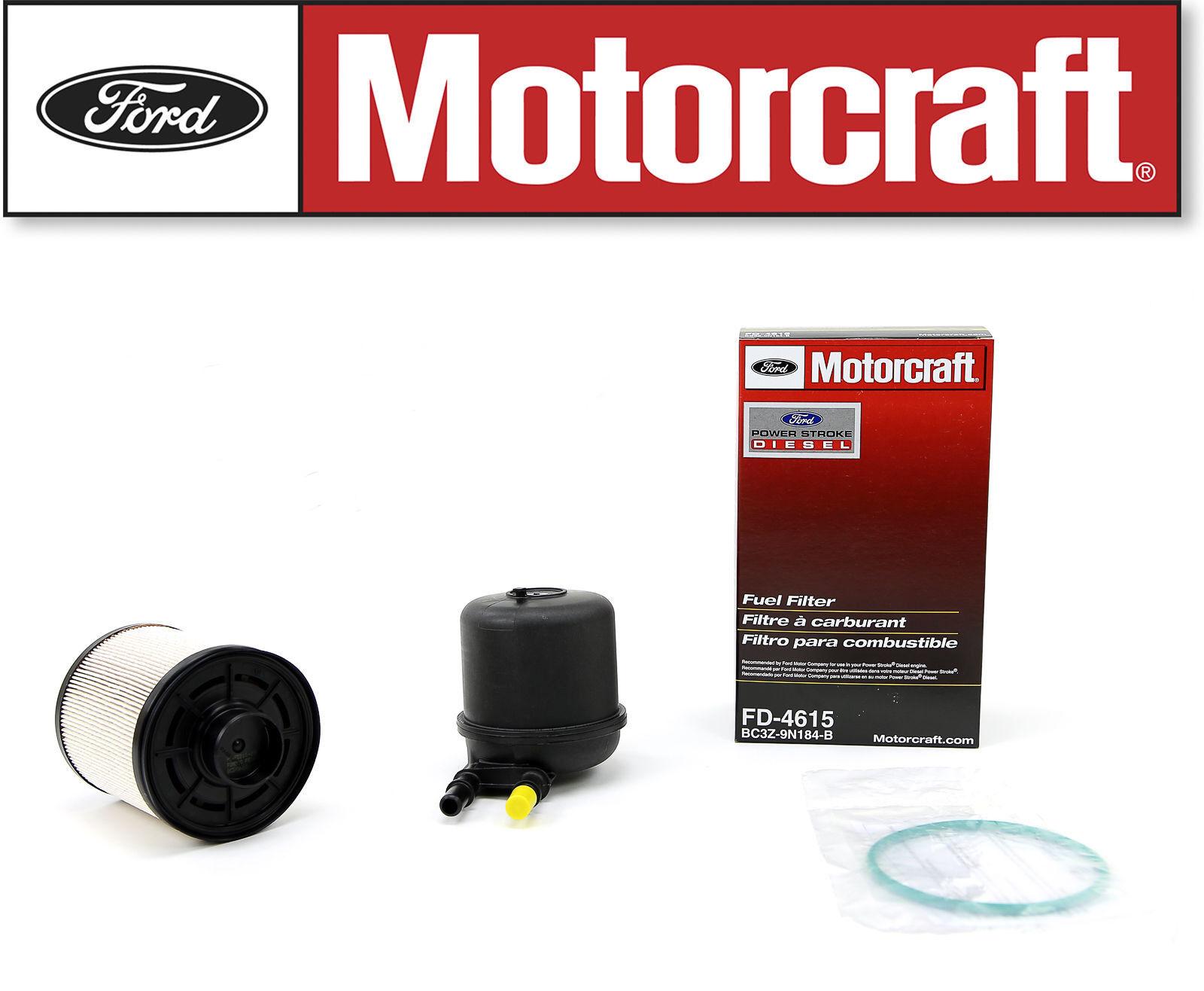Motorcraft Fd4615 Fuel Filter Ebay Gm 12642623 Stock Photo