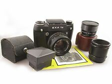 Analoge M42 Kamera SET EXA 1C mit Pentacon 1,8 50mm / M42 camera and lens