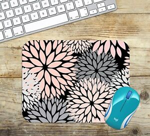 Mouse-Pad-Easy-Glide-Non-Slip-Neoprene-with-Dahlias