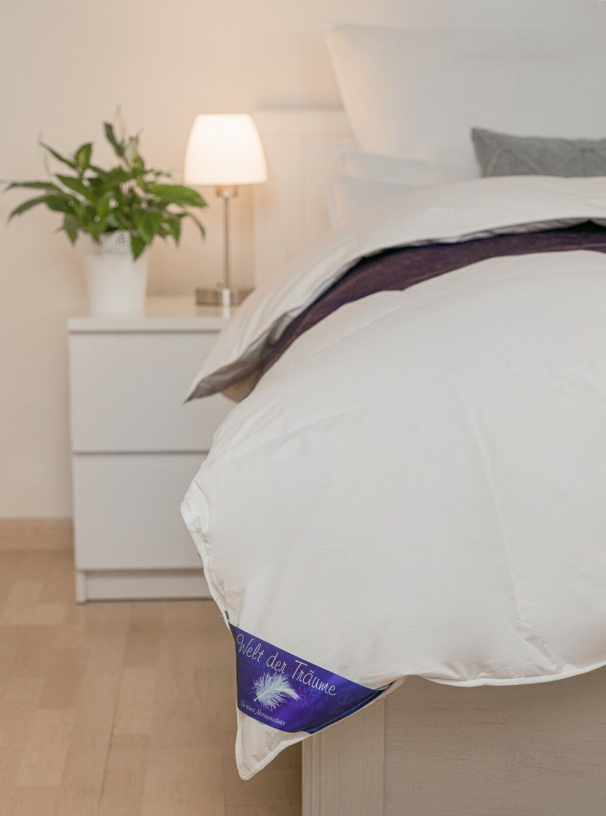 LUXUS Hotelqualität Daunendecke Bettdecke 100%Natur Steppdecke Decke Daunen
