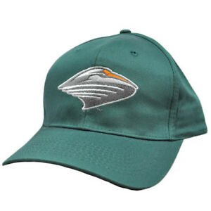 NCAA-UM-Miami-Hurricanes-Canes-Green-Vintage-Retro-Curved-Bill-Snapback-Hat-Cap