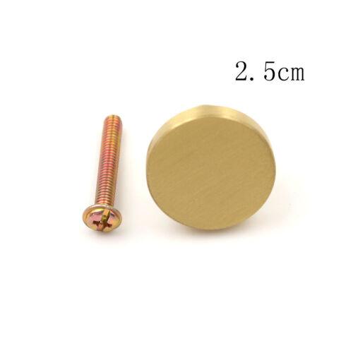 Fashion Brass Knob Cabinet Door Pull Dresser Knob Drawer Handle JP