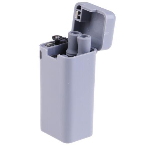 Creative Environmental Protection Reusable Folding Drinking Straw Metal Keychain