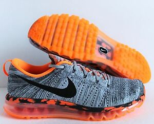 info for baaff c2511 Image is loading NIKE-FLYKNIT-MAX-PREMIUM-WOLF-GREY-BLACK-TOTAL-