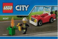 New Sealed LEGO CITY 30347 FIRE CAR - Polybag Includes Kids Coupon for Legoland
