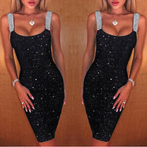 Women-Sleeveless-Glitter-Shimmer-Backless-Sheath-Dress-Party-Club-Cocktail-Dress