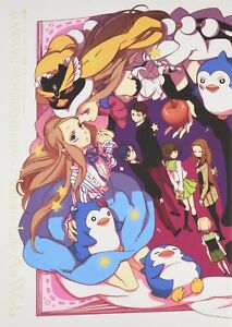 Art-Japanese-Book-Mawaru-Penguindrum-Hoshino-Lily-Art-Works