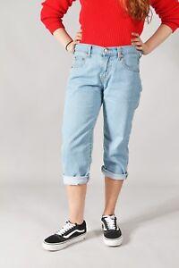 Vintage-Levis-3-4-Capri-Cropped-Jeans-Shorts-26-40