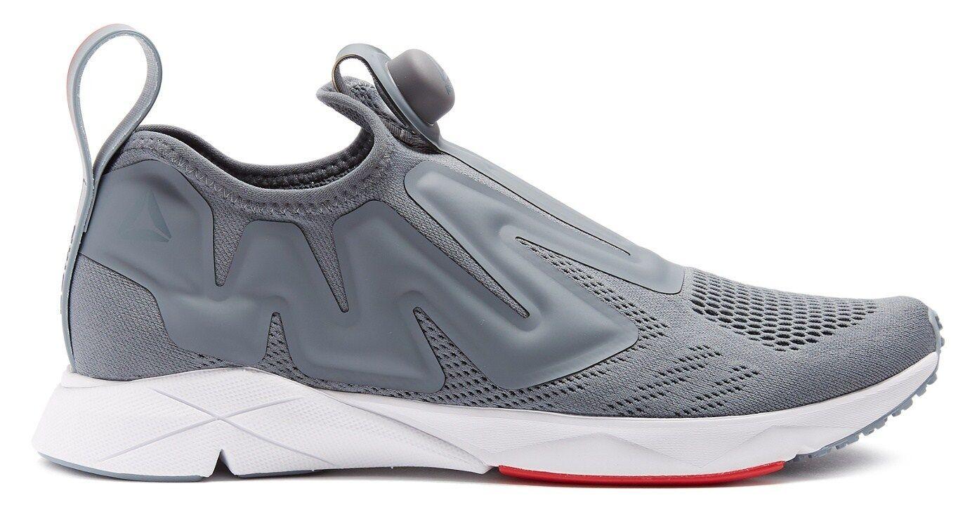 REEBOK 'Pump Supreme Engine Low-Top Mesh' Trainers Sneakers Grey US 9.5 **NIB**