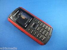 Samsung b2100 Scarlet Red simlockfrei Outdoor Cellulare molto usato B 2100