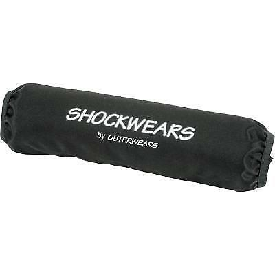 Suzuki LTR450 Shockwears Front Shock Cover Pair Black by Outerwears 30-2246-01