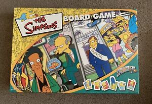 The Simpsons Board Game - Complete - The Race Around Springfield - VGC - 2004