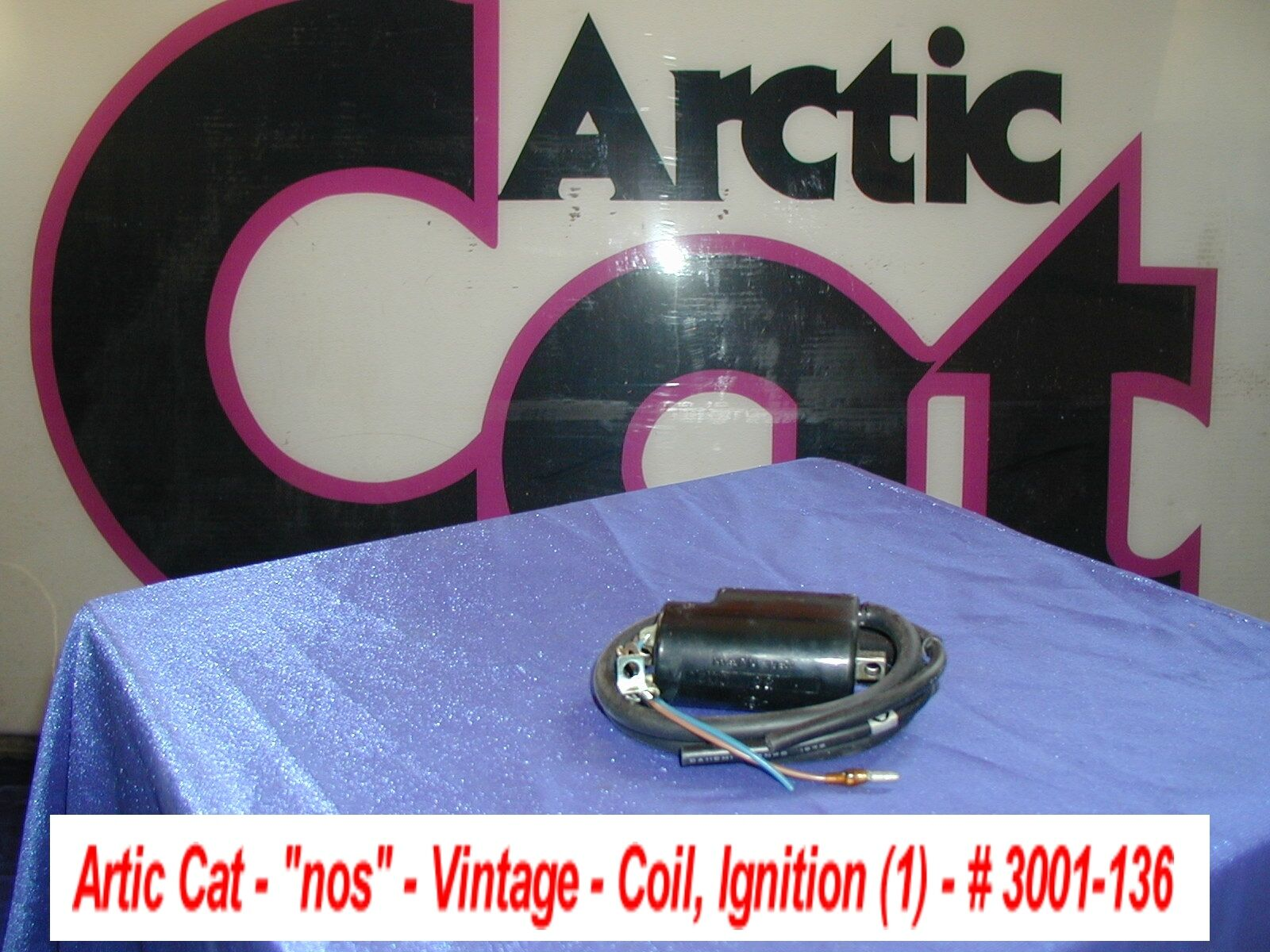 Arctic Cat Snowmobile Ignition Coil NOS 1973 Formula II - EXT