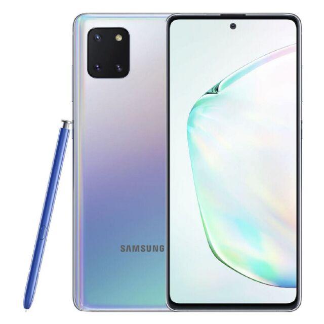 Samsung Galaxy Note 10 Lite SM-N770F/DS 8Go Ram 128Go Rom Dual Sim - Argent