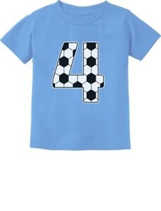 Image Is Loading 4th Birthday Gift 4 Year Old Soccer Fan