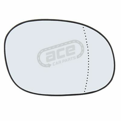 Peugeot 206 Van 1998-2009 Non-Heated Aspherical Wing Mirror Glass Drivers Side