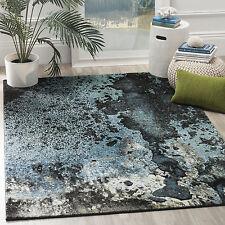 Safavieh Glacier Abstract Watercolor Blue/ Multi Area Rug (2' 7 x 5')