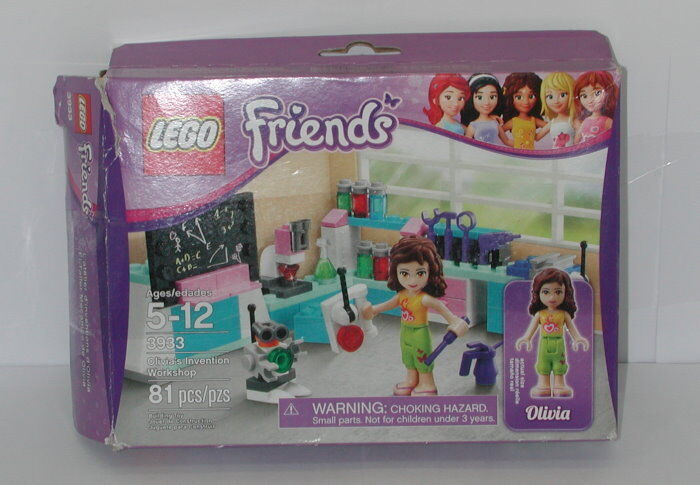 Lego Lego Lego Friends Olivia's Invention Workshop 3933 Olivia a8d96b