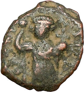 CONSTANS-II-641AD-Authentic-Ancient-BYZANTINE-Coin-Large-m-i24149