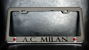 image is loading 034 ac milan 034 license plate frame custom