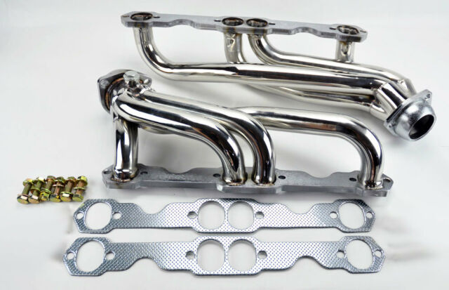 Chevy GMC 88-97 5.0L 5.7L 305 350 V8 Stainless Steel Headers Truck w/ Gaskets