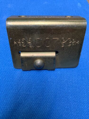 """007 Padlock and Hasp Protector Fits Padlock Sizes 1 1//4"""" to 2 3//8"""" NOS"""