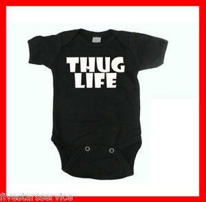 RARE NEW GANGSTA RAP BABY BOY GIRL CLOTHES BODYSUIT ONE
