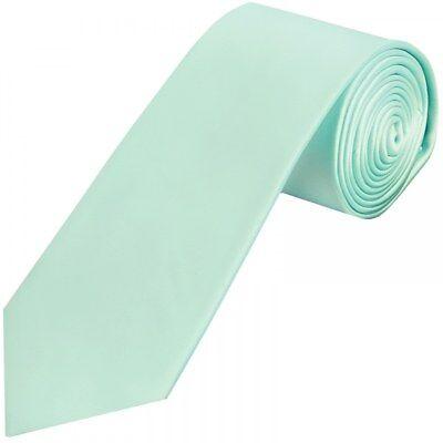 Cordiale Plain Menta Verde Raso Classiche Cravatta Da Uomo Fatto A Mano Cravatta Matrimonio Cravatta Cravatta Da Cerimonia-mostra Il Titolo Originale