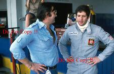 Jody Scheckter & Walter Wolf F1 Portrait Argentine Grand Prix 1977 Photograph
