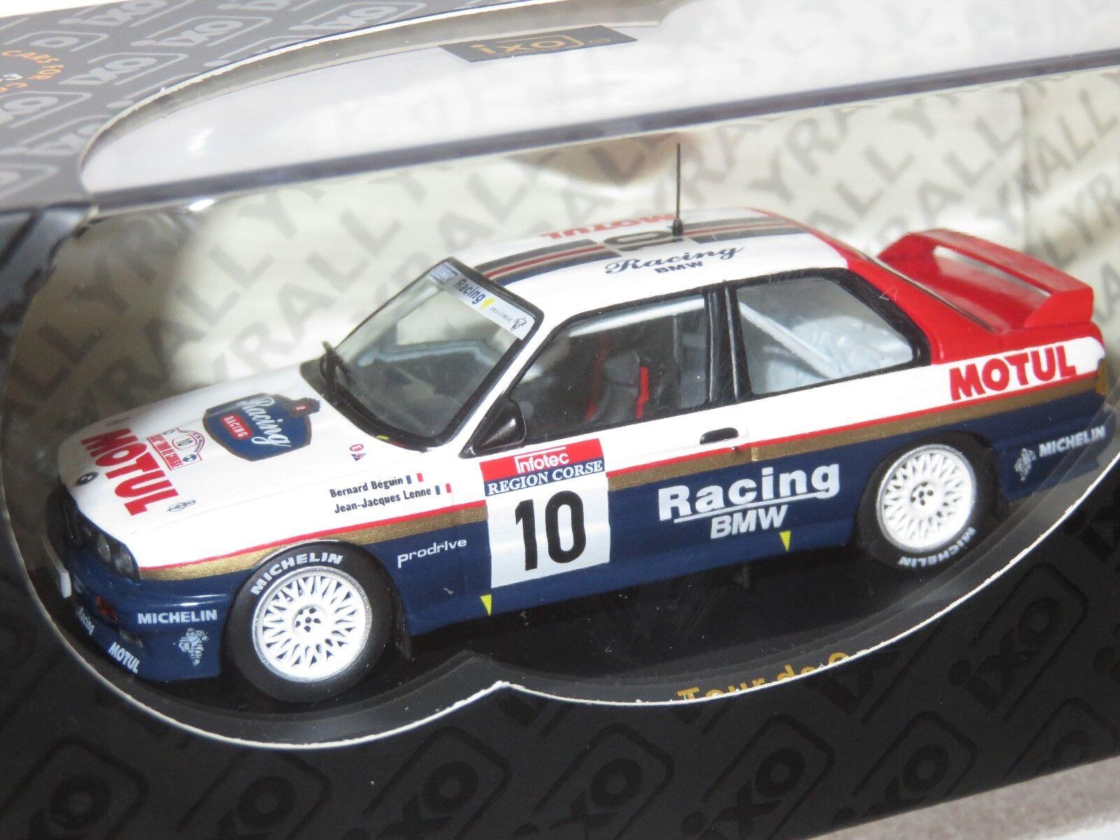 1 43 BMW BMW BMW E30 M3   Rally de France Tour de Corse 1987  B.Beguin 4b145f