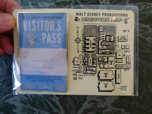 Walt-Disney-Productions-Studio-Visitors-Pass-Exclusive-D23-PIN-Never-Opened-RARE