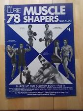 "DAN LURIE exercise muscle catalog ""MUSCLE SHAPERS 78""/DON ROSS 1978"