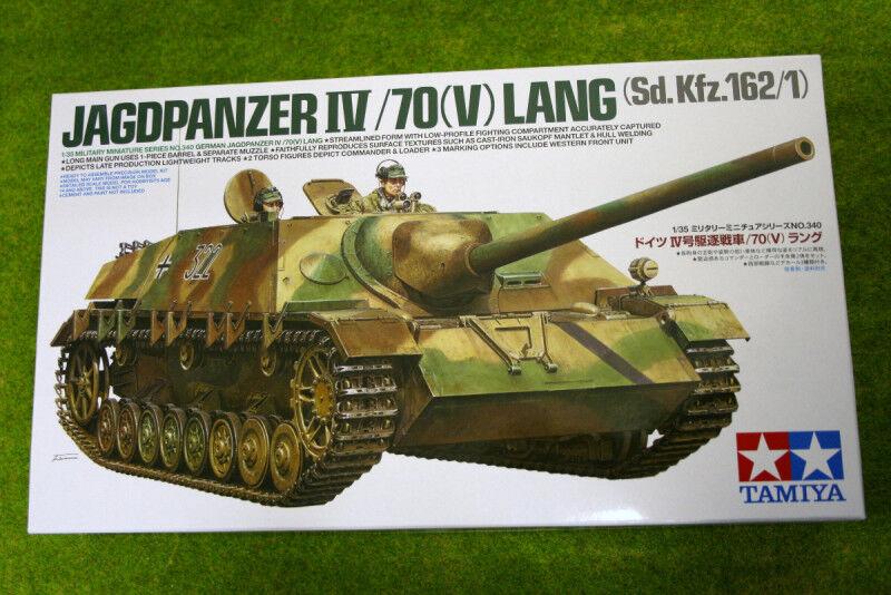 Tamiya GERMAN JAGDPANZER IV 70 LANG(V) 1 35 Scale  Kit 35340