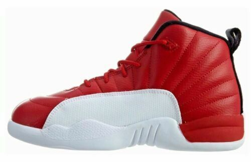 huge selection of 8cc0c 87502 Air Jordan 12 Retro PS Little Kids 151186-600 Gym Red White Shoes Youth Sz  11.5 for sale online | eBay