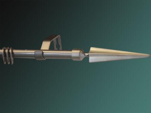 Ringe Gardinenstange Nickel gebürstet 16mm Modell Palma incl
