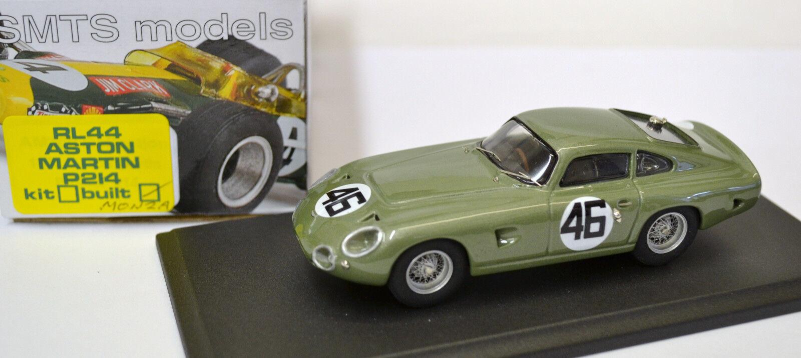 1/43 RL44 Aston Martin proyecto 214 Monza por SMTS