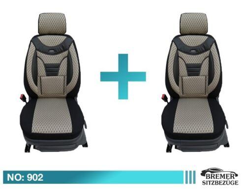 Mercedes B Klasse W246 Maß Schonbezüge  Sitzbezüge Fahrer /& Beifahrer 902