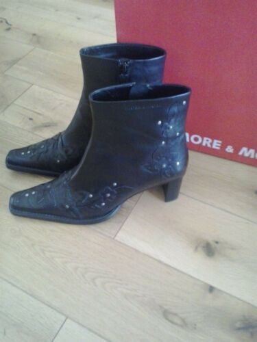 Boots Ankle 5 5 Lady 39 amp; 25301 Black More 31 6 5 d5wSxAq