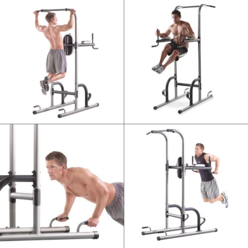 and Dip Stations Pull Up Gold/'s Gym XR 10.9 Power Tower with Push Up