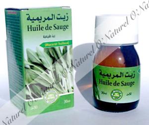 Huile-de-Sauge-Macerat-Huileux-100-Naturelle-30ml-Sage-Oil-Aceite-de-Salvia