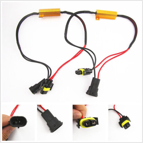 2x HB4 Stecker Lampenfassung Sockel Lampensockel 9006 Kabel Fassung Auto KFZ
