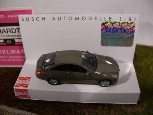 1//87 Busch MB CLASSE E COUPE GRIGIO 41652