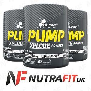 9bb5f5c6df3 Image is loading OLIMP-PUMP-XPLODE-POWDER-pre-workout-AAKG-arginine-