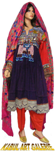 Vintage afghanistan ethnic  traditional dress cost